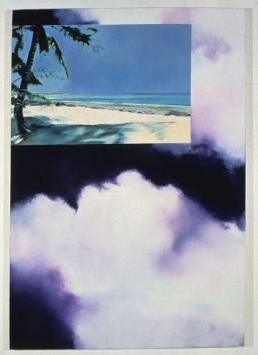 Untitled, 1989, Oil on canvas, 203cm x 140cm