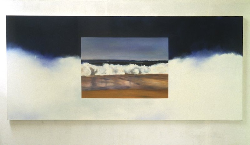 Untitled, 1990, Oil on canvas, 122cm x 274cm