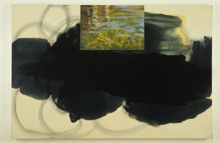 Bella Lake B,1991, Oil on canvas, 122cm x 183cm