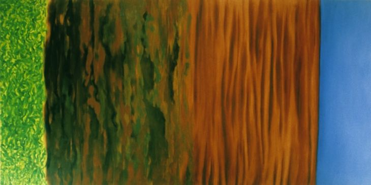 Untitled, 1986, Oil on canvas, 158cm x 315cm