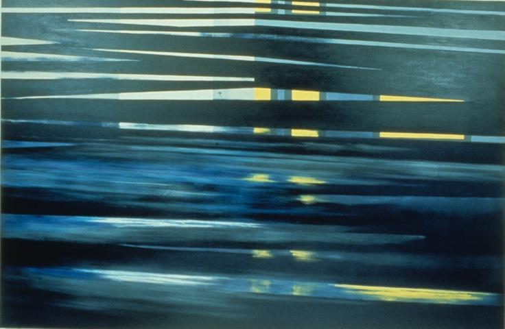 Helen's, 1988, Oil on canvas, 203cm x 310cm
